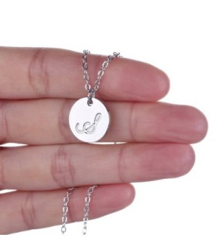 AOLO Trendy Necklace Summer Initial