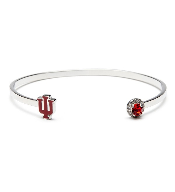 University Bracelet Hoosiers Officially Stainless - C6188ESK2OE