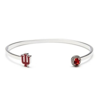 University Bracelet Hoosiers Officially Stainless