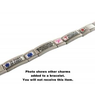 Pacemaker Medical Alert Italian Bracelet