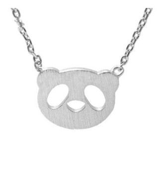 Spinningdaisy Handcrafted Brushed Necklace Silver