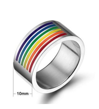 LGBT Rainbow Enamel Lesbian Jewelry