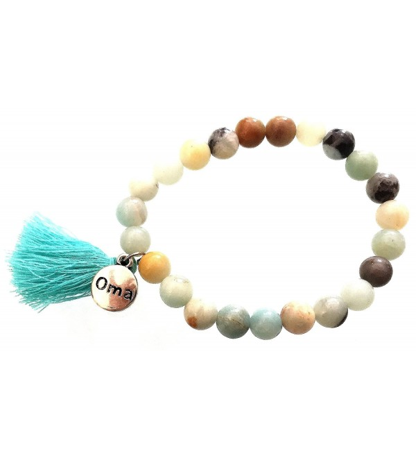 Buddha Healing Gemstone Lava Stone Chakra Bracelet For Yoga And Meditation - OMA BRAND - CK1155NWIIL