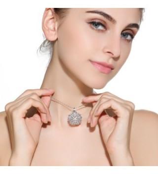 SHINCO Flower Cluster Necklace Pendant in Women's Pendants