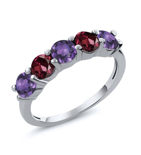 Sterling Amethyst Rhodolite Wedding Available - CL120ZP3VCF