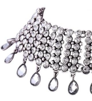 QIYUN Z Jewelry Rhinestone Pendant Necklace in Women's Choker Necklaces