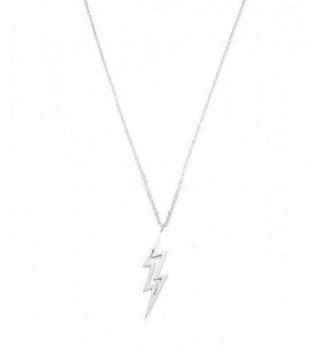 Altitude Boutique Brushed Lightning Necklace