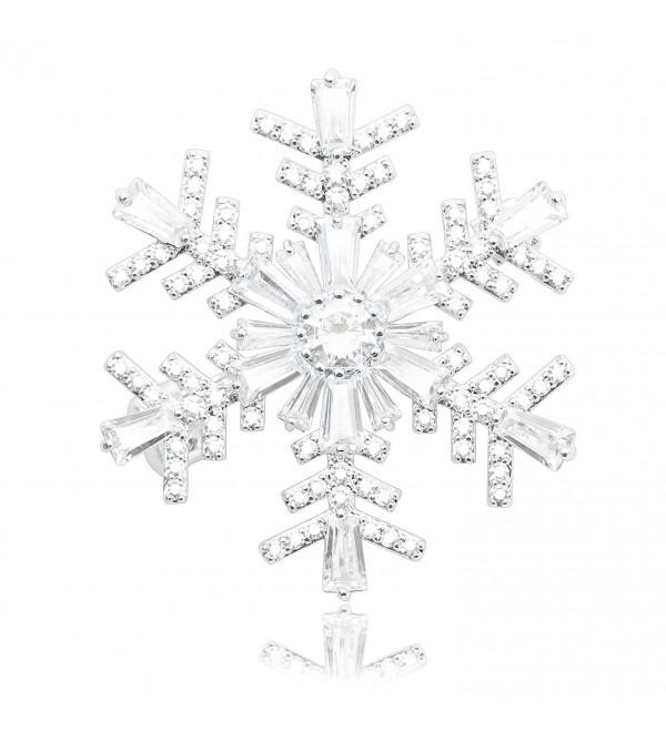 KristLand Wedding Elegant Snowflakes Double wear - Snowflakes - C3186G8SKR3