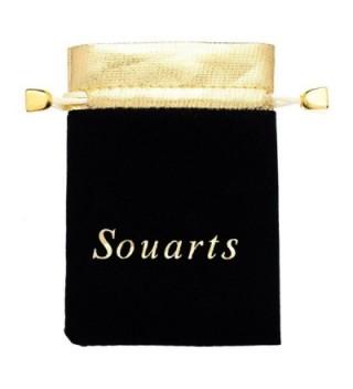 Souarts Rhinestone Button Jewelry Charms