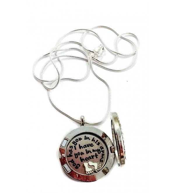 Customized Birthstone Miscarriage Locket by Living Memory Lockets for Less Son or Daughter - March - CB12F5CFSD3