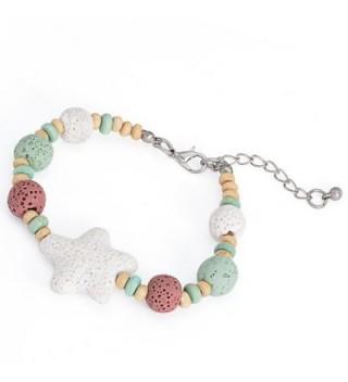 Crystal Healing Balancing Gemstone Essential - D:Blue Bracelet - CU187E6AQZR