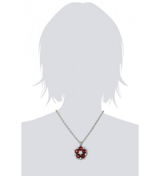 1928 Jewelry Jeweltones Silver Tone Necklace in Women's Pendants