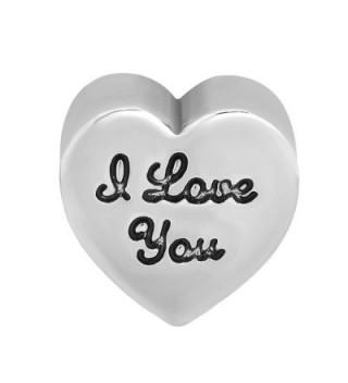 LovelyJewelry Heart Charm Charms Bracelet in Women's Charms & Charm Bracelets