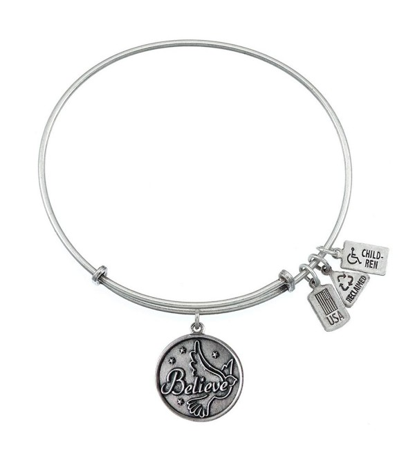 Wind and Fire Believe Charm Bangle - CN11NZJVFA3