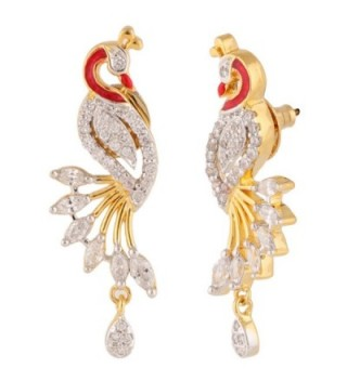 Swasti Jewels Peacock Traditional Earrings in Women's Jewelry Sets