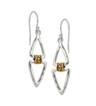 Silpada Double Sterling Silver Earrings