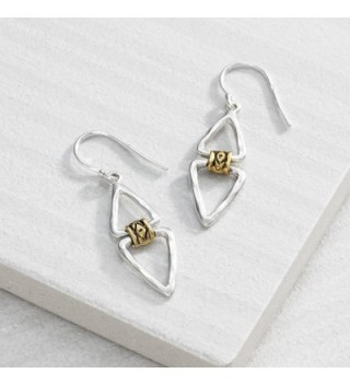 Silpada Double Sterling Silver Earrings in Women's Drop & Dangle Earrings