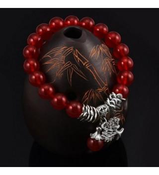 Clearance Birthstone Bracelet Pendant Elastic