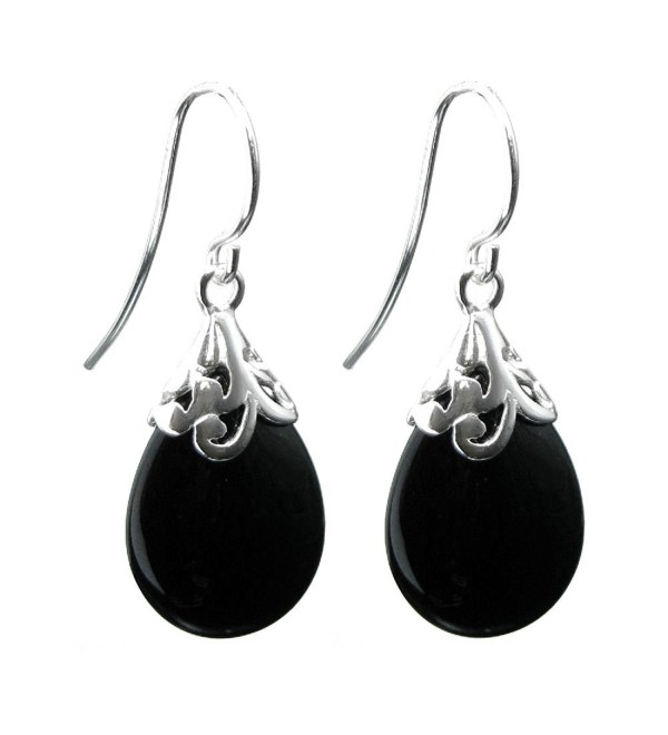 Dreambell Sterling Filigree Teardrop Earwire - CX11OBTHJPH