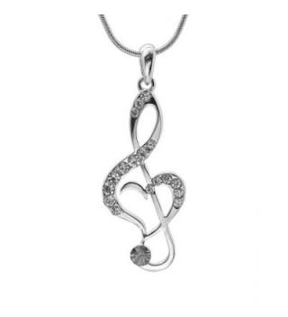 chelseachicNYC Perfect Crystal Treble Necklace