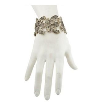 Lux Accessories filigree Stretch Bracelet