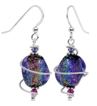 Body Candy Handcrafted Dichroic Swarovski