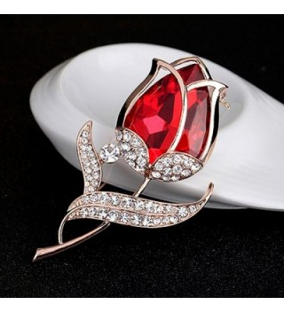 Sanwood Fashion Rhinestone Wedding Jewelry in Women's Brooches & Pins