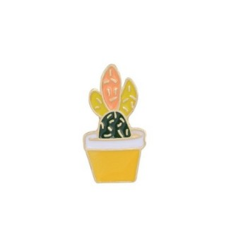 Children Cactus Flower Potted Corsage in Women's Brooches & Pins