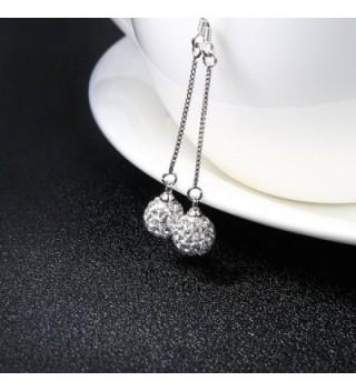 Jiayiqi Earrings Charming Silver Dangle