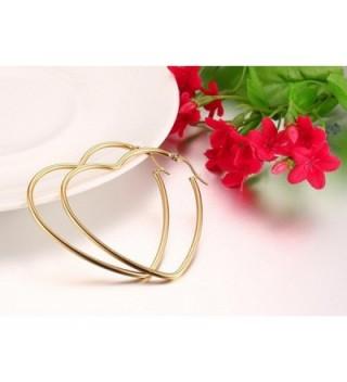 Mengpa Titanium Steel Womens Earrings
