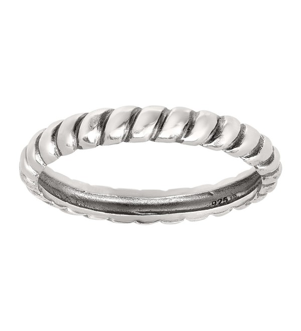 Silpada 'Belle Fleur' Sterling Silver Stack Ring - C212O4T2DTO