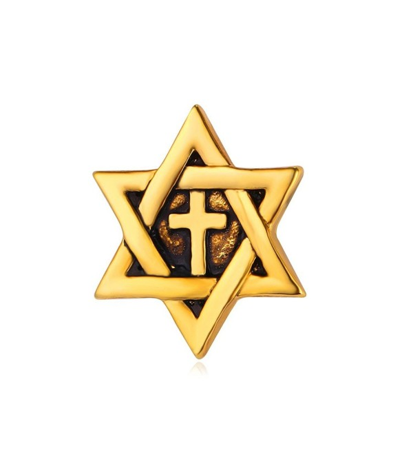 Star of David Brooch & Pin Unisex Fashion Lapel Pin - CD12N267XY0