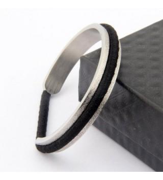 ZUOBAO Stainless Elastic Bracelet Brushed in Women's Cuff Bracelets
