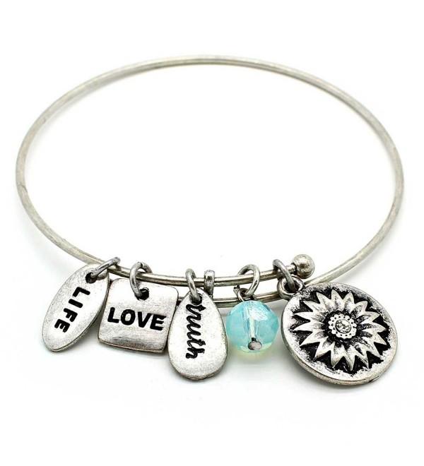 KIS Jewelry Symbology Sister Bracelet Silver - CD11ULWT4KV