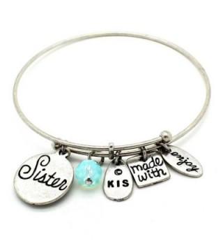 KIS Jewelry Symbology Sister Bracelet Silver