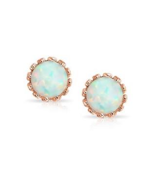 Bling Jewelry Simulated earrings Plated in Women's Stud Earrings