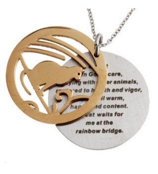 R H Jewelry Stainless Sentiment Necklace