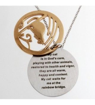 R H Jewelry Stainless Sentiment Necklace in Women's Pendants