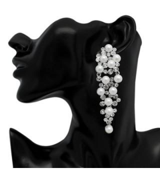 LY8 Fashion Simulated Chandelier Earrings in Women's Drop & Dangle Earrings
