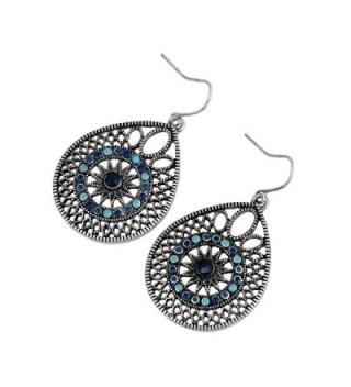 EXCEED Womens Handmade Filigree Earrings
