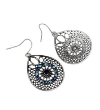 EXCEED Womens Handmade Filigree Earrings in Women's Drop & Dangle Earrings