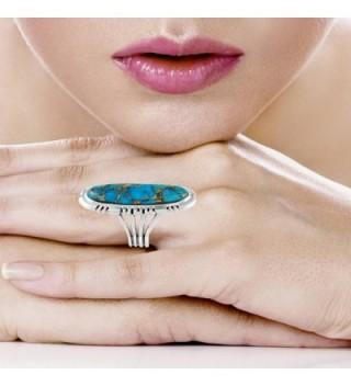 Sterling Silver Genuine Turquoise Gemstones