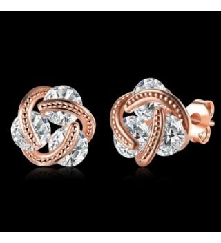 Love heart Cubic Zirconia Earrings