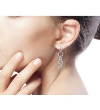 NOVICA Sterling Silver Earrings Songkran in Women's Drop & Dangle Earrings