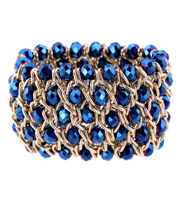 Jewelry Crystal Exaggerated Bangles Bracelets - CN120S9V873