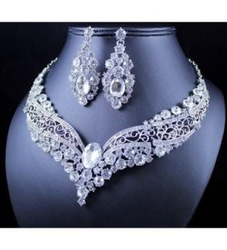 Janefashions VINTAGE AUSTRIAN RHINESTONE NECKLACE in Women's Jewelry Sets