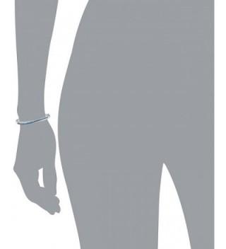 Foruiston Crossover Zirconia Sapphire Bracelet in Women's Bangle Bracelets