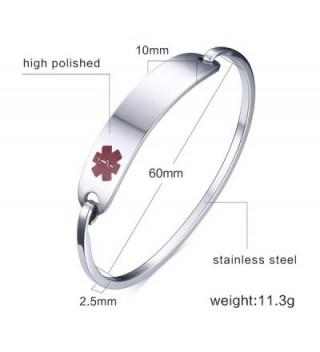 Engraving Stainless Medical Identification Bracelets