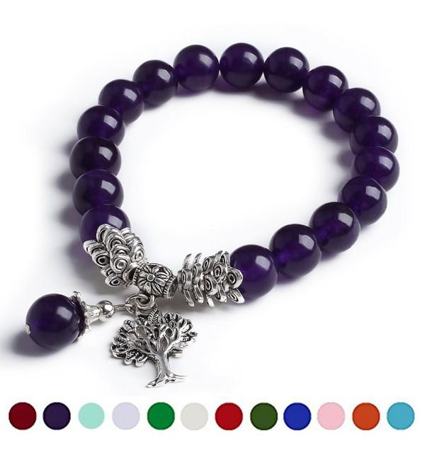 February Amethyst Birthstone Bracelet Bracelets - Bracelet-02 February A2 - CD189QKCMEU