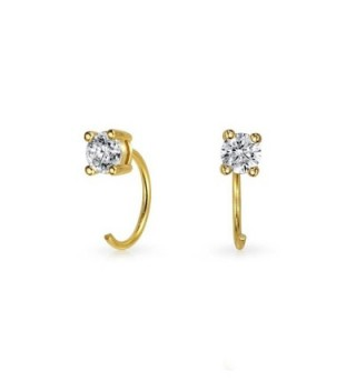 Bling Jewelry Plated Threader Earrings